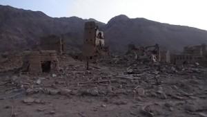 مجزرة العدوان السعودي الامريكي _ منطقة صبر مدبرية سحار بني معاذ - صعدة - 3 يونيو 2015 (1)