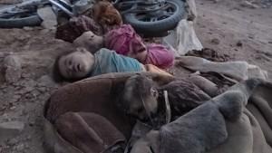 مجزرة العدوان السعودي الامريكي _ منطقة صبر مدبرية سحار بني معاذ - صعدة - 3 يونيو 2015 (6)