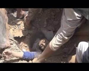 مجزرة العدوان السعودي الأمريكي -وادي المغسل -  مديرية المجز - محافظة صعدة  (2)