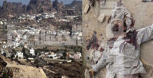 صورة سيطرة الجيش واللجان على مدينة الربوعة بعسير