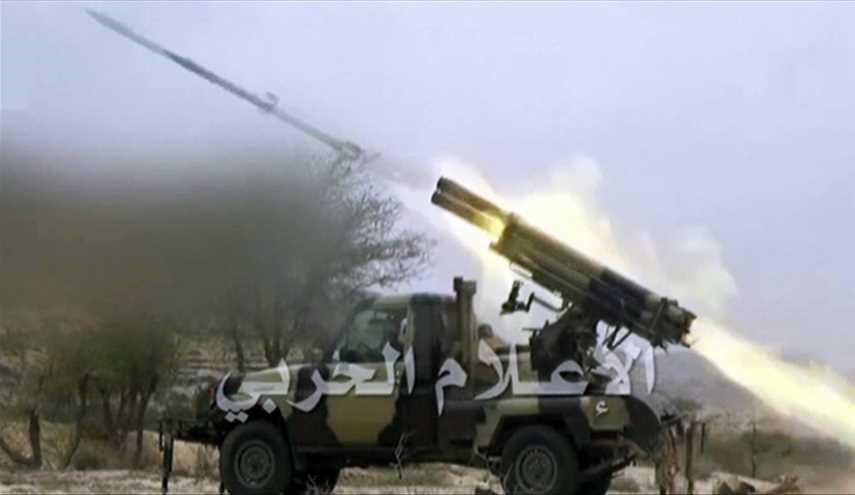 Katyusha Rocket Targeting Saudi Army in Jizan   Yamanyoon