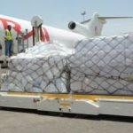 مطار صنعاء يستقبل طائرة تابعة لليونيسف تحمل لقاحات