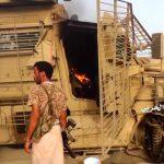شاهد صورمن جولة الاعلام الحربي على الآليات التي تم تدميرها واحراقها بالولاعات في الفازة